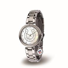 NFL Crystal Charm Watch - Indianapolis Colts