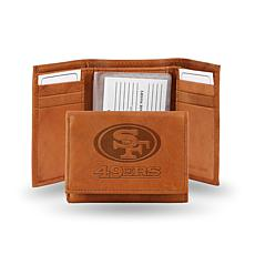 NFL Embossed Trifold Wallet - 49ers