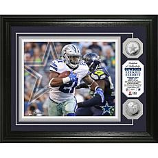 NFL Ezekeil Elliott Silver Coin Photo Mint