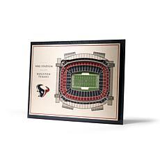 NFL Houston Texans StadiumViews 3-D Wall Art - NRG Stadium