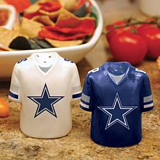 NFL Jersey Ceramic Salt and Pepper Shakers - Cowboys