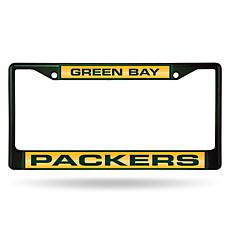 NFL Laser-Cut Chrome License Plate Frame -  Packers