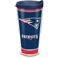 NFL New England Patriots Touchdown 24 oz Tumbler with lid