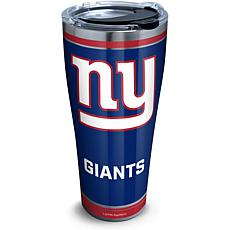 NFL New York Giants Touchdown 30 oz Stainless Steel Tumbler with lid