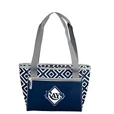 NFL Officially Licensed Crosshatch 16-Can Cooler Tote - Tampa Rays