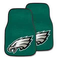 NFL Philadelphia Eagles 2-piece Carpet Car Mat Set