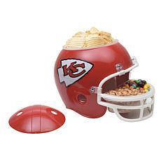NFL Plastic Snack Helmet - Chiefs
