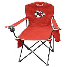 NFL Quad Chair with Armrest Cooler - Chiefs