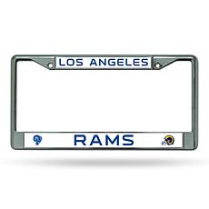 NFL Retro Chrome License Plate Frame - Rams