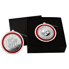 NFL Silver Coin Ornament - Pittsburgh Steelers