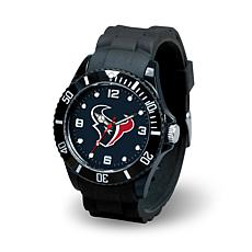 NFL Spirit Rubber Strap Watch - Houston Texans