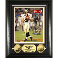 NFL Super Bowl XLIV MVP Coin Photo Mint - Drew Brees