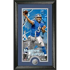 NFL Supreme Coin Panoramic Photo Mint-Matthew Stafford