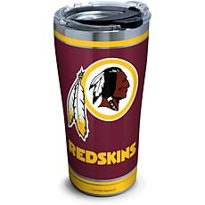 NFL Washington Redskins Touchdown 20 oz Stainless Steel Tumbler wit...