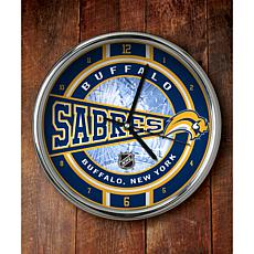 NHL Chrome Clock - Sabres