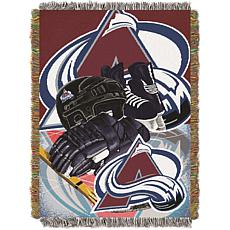 NHL Home Ice Advantage Tapestry Throw - Avalanche