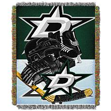 NHl Home Ice Advantage Tapestry Throw - Stars