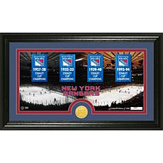 """NHL Limited Edition """"Tradition"""" Bronze Coin Panoramic P"""