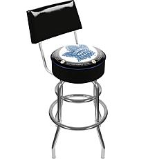 NHL Throwback Toronto Maple Leafs Padded Bar Stool with Back