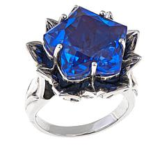 Nicky Butler 10.15ctw Blue Quartz Triplet Star Ring