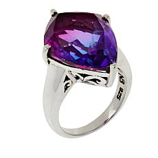 Nicky Butler 11.10ctw Purple Haze Quartz Triplet Ring
