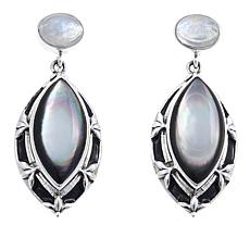Nicky Butler Moonstone and Mother-of-Pearl Earrings