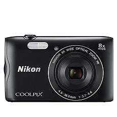 Nikon COOLPIX A300 20.1MP Digital Camera with/Voucher & Memory Card