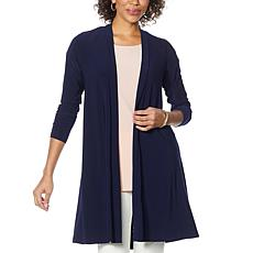 Nina Leonard Pleat Back Duster