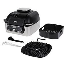 Ninja Foodi 5-in-1 Indoor Grill with Air Fryer& Kebabs