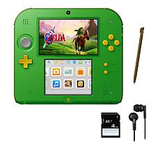 "Nintendo 2DS Handheld Console w/""Legend of Zelda"" Game & Accessories"