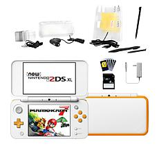 Nintendo 2DS XL with Mario Kart 7 Game Bundle with Accessories