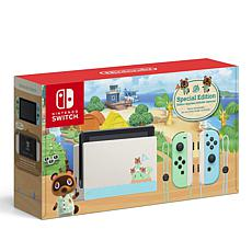 Nintendo Switch Animal Crossing Special Edition Console