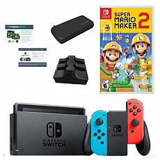 "Nintendo Switch Bundle with ""Mario Maker 2"""