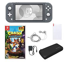 Nintendo Switch Lite Console Crash Bandicoot Bundle with Accessories