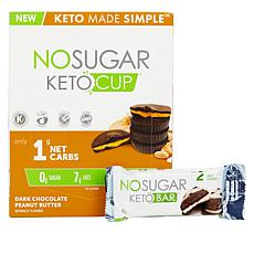 No Sugar Keto 30-count Keto Cups with Try Me Bar