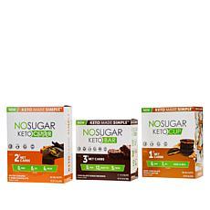 No Sugar Keto Bars 62-count 3-pack