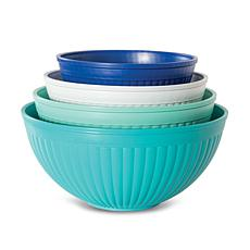 Nordic Ware 4-piece Prep and Serve Mixing Bowl Set
