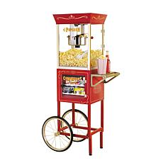 Nostalgia Electrics Popcorn and Concession Cart
