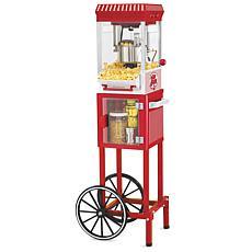 Nostalgia KPM200CART Vintage 2.5-Ounce Popcorn Cart - 45 Inches Tall
