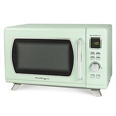 Nostalgia Mid-Century Retro 0.9 Cu. Ft. Microwave - Seafoam Green