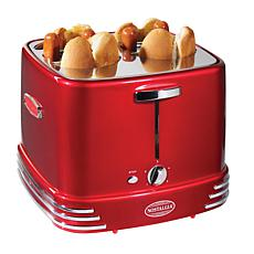 Nostalgia Retro Series 4-Slot Pop-Up Hot Dog Toaster