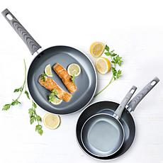 Not a Square Pan 3-piece Nonstick Frypan Set