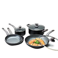 Not a Square Pan 8-piece Nonstick Frypan Set