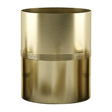 Nu-Steel Jewel Gold Wastebasket