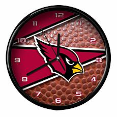 Officially Licensed Arizona Cardinals Team Football Clock