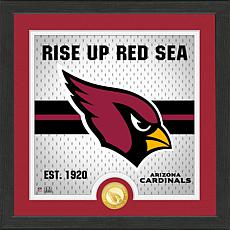 Officially Licensed Battle Cry Bronze Photo Mint - Cardinals