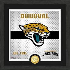 Officially Licensed Battle Cry Bronze Photo Mint - Jaguars