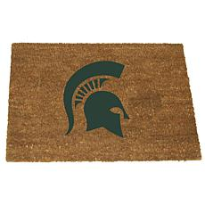 Officially Licensed Colored Logo Door Mat - Michigan State