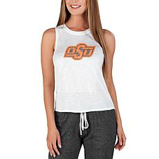Officially Licensed Concepts Sport Gable Ladies Knit Tank-Oklahoma St.
