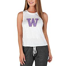 Officially Licensed Concepts Sport Gable Ladies Knit Tank - Washington